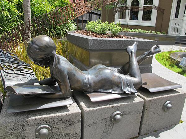 Statue in Christchurch