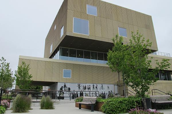 Rentemestervej Library, Copenhagen - Bygningen er prisbelønnet